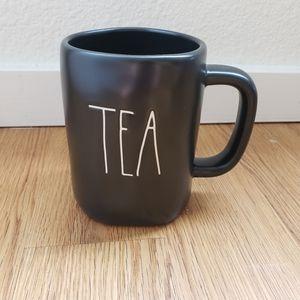 Rae Dunn Tea Black mug